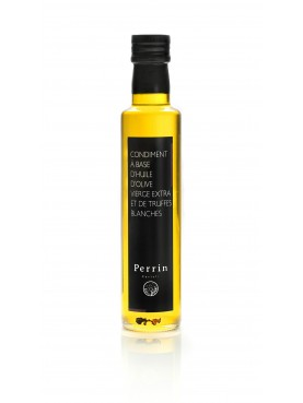 Condiment of extra virgin olive oil base and white truffles 25cl
