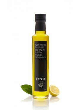 Olive oil with lemon from Menton