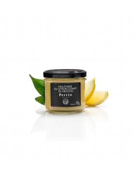 Moutarde au citron confit de Menton 90g