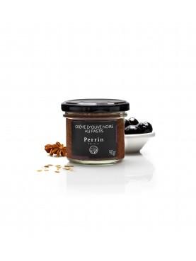 crème d'olive noire au pastis