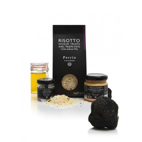 La Box Risotto - tous les ingrédients pour préparer votre risotto à la truffe.