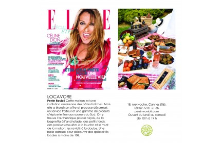 Cannes boutique in the Elle Magazine!