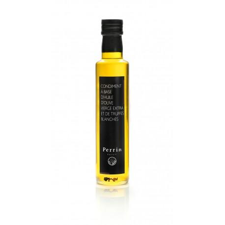 Condiment à base d'huile d'olive vierge extra et de Truffes blanches