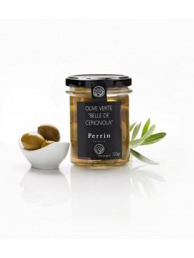 """Olive verte """"Belle de Cerignola"""" - 120g"""