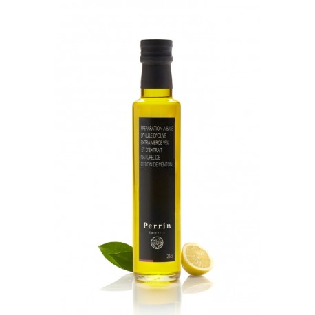 Olive oil with lemon from Nice