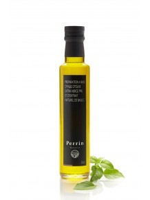 Huile d'olive au basilic - 25cl