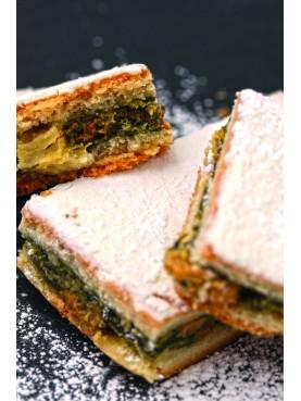 La tourte de blettes sucrée- sweet swiss chard pie