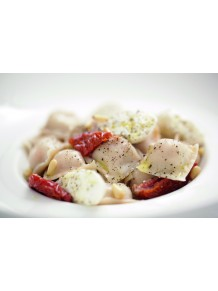 Tomato-mozzarella and black olive ravioli- 4dz
