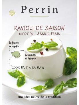 Fresh basil small ravioli - 4dz