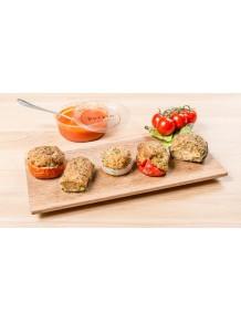 Vegetarian stuffed vegetables - frozen - 2kg