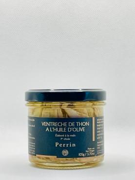 Ventrèche de thon à l'huile d'olive - 105g