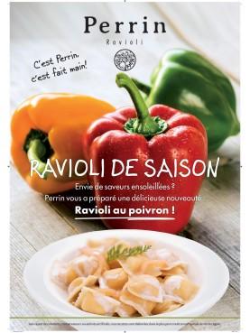 Ravioli aux poivrons - barquette de 4dz